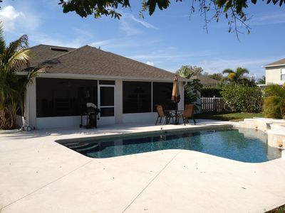 Photo for Beautiful 3 Bedroom Home in Gated Community, Fully Equipped with Salt Water Pool