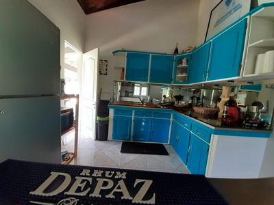 Photo for KAZ IN FREGATE is CURACAO the top, the bottom KERANINA, and its MADIKARU bungalow.