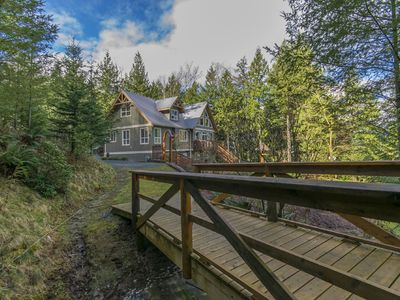 Photo for Ryder Lake - Chalet Style on 3.5 acres - Private Hot Tub - Child Friendly