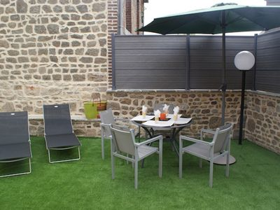 Photo for Nice apt with garden and terrace