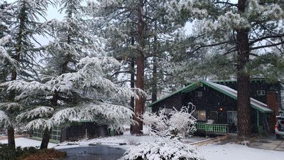 Photo for King Size Cabin in the Snowy Woods
