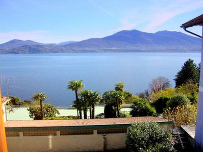 Photo for Within walking distance of Lake Maggiore, shops and the beach