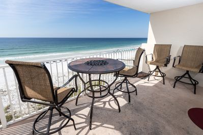 View of the Gulf - Get Alluring views  of the Gulf from this condo!