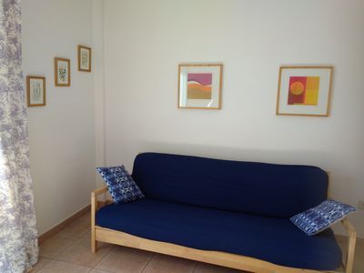 Photo for Nice flat in the most green area in the south of Tenerife with solarium and pool