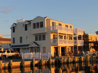 Photo for Amazing Bay-front  4 Bed; 3 Bath  with boat dock, CA, sleeps 8, Stunning Sunsets