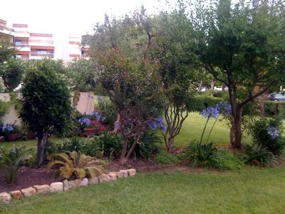 Photo for Beautiful 2-bedroom designer apartment with a garden, pool, and tennis court
