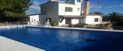 Photo for FANTASTIC AND QUIET CHALET / VILLA 5 KM FROM L'AMPOLLA AND THE BEACHES