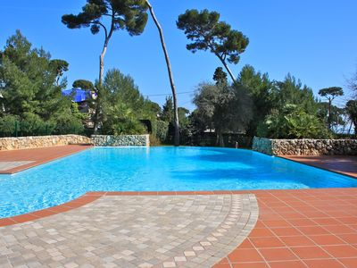 Photo for Cap d'Antibes - Close to Garoupe beach - Apartment with 3 bedrooms to rent