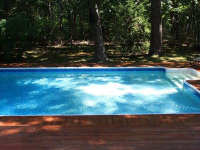 Photo for Tranquility In Your Own Hideaway - Park Like Setting, Heated Pool, New Bathrooms