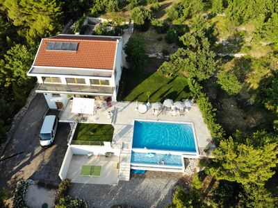 Photo for Beautiful Villa  with Sea View and heated, infinity Pool