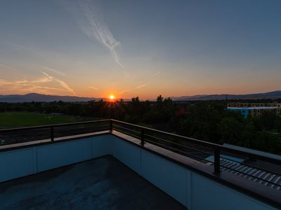 Photo for Luxury apartment in Missoula's Riverfront neighborhood with a rooftop terrace!