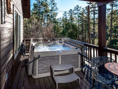 Photo for Fifth Dimension, 2 Bedrooms, WiFi, Hot Tub, Game Table, Grill, Sleeps 4