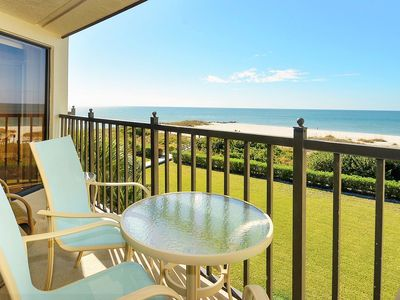 Photo for Land's End #404 building 7 - Beautiful UPDATES / Beachfront w/private Balcony