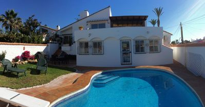 Photo for Stunning Andalusian beachside location with private pool and garden