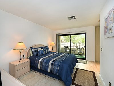 Photo for Palm Springs Condo in  Biarritz w/ Large Swimming Pool, Spa & Tennis Courts - Bi