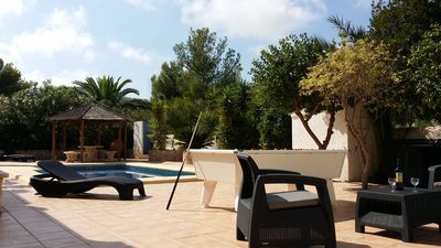 Photo for Moraira Luxury Private Villa, Optional Heated Pool, 7ft Outdoor pool table