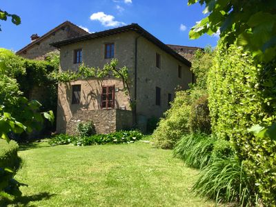 Photo for Newly Remodeled. Typical Tuscan House. Private  Garden.  Lovely View on Lucca!