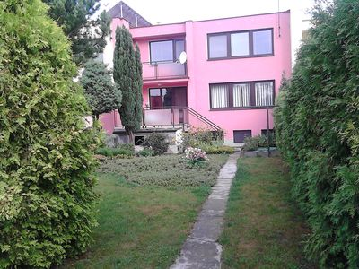Photo for Colourful townhouse with garden terrace quiet location in the countryside near Castle Melnik