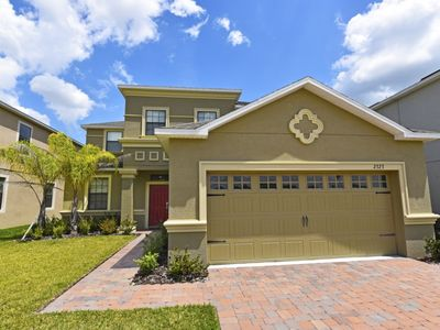 Photo for Budget Getaway - Providence - Amazing Contemporary 5 Beds 4 Baths Villa - 9 Miles To Disney