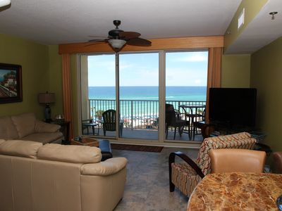 Photo for Shores of Panama #621 w/2bedrooms/bunk/3baths/reserve parking on 6th.