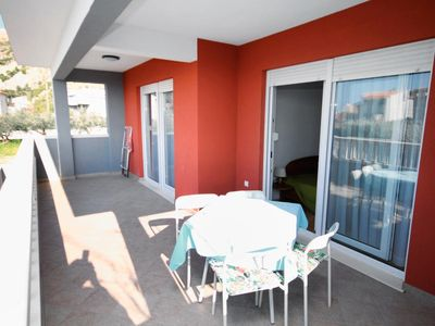 Photo for Two bedroom apartment with terrace and sea view Duće (Omiš) (A-5261-a)