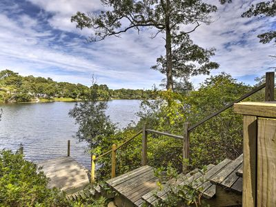 Photo for NEW-Waterfront Pocasset House w/Pvt Dock & Hot Tub