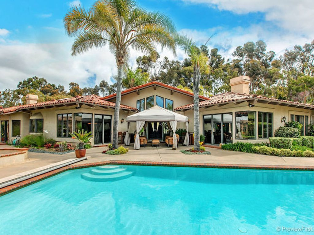 4 Bedroom Resort Like Home In Exclusive San Diego Rancho Santa Fe Rancho San