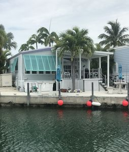 Photo for Venture Out #465 2/2 Tropical Getaway on Canal with Open Water View