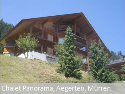 Photo for Apartment Panorama in Mürren-Gimmelwald - 4 persons, 1 bedrooms