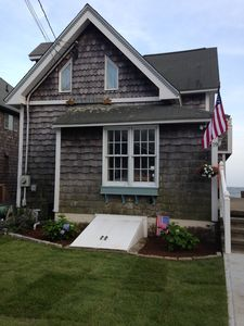 Photo for Stunning Beachfront Home in Westbrook