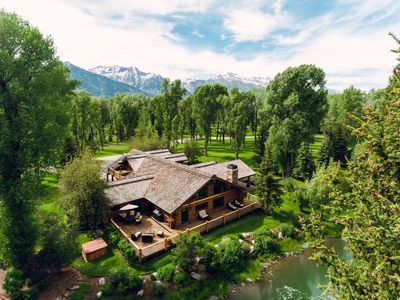 Photo for Abode at Lakota | Lux Wilderness Ranch Home + Honeymoon Cabin near Snake River |