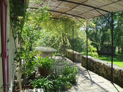 Photo for country holiday home - 5 rooms - 7/9 personshouse fulle of character with garden and secure swimming pool