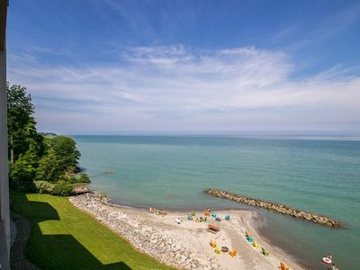 Photo for Lakefront Condo Private Beach /Indoor Pool