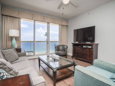 Photo for SALE 30% OFF! DIRECT BEACHFRONT - WALK TO PIER PARK - EVERYTHING GULF FRONT!