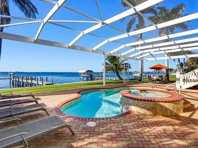 Photo for Villa Bel Air - Riverfront pool/spa home with Southern exposure!