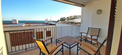 Photo for Capdevila- Apartment on the seafront in Llafranc. 4 people