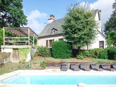 Photo for Old house with character, private pool, sleeps 6, 3 bedrooms