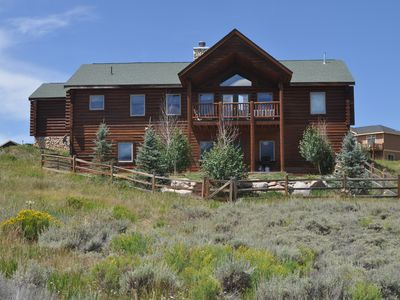 Photo for Beautiful mountain home with amazing views