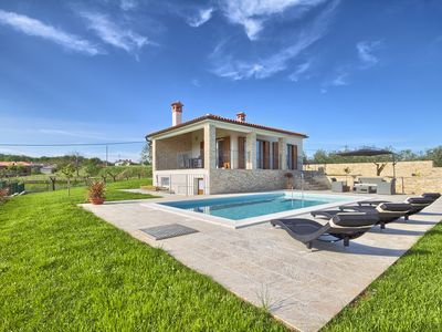 Photo for NEW SPA - Charming house with the pool on the top of the hill with super view.