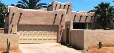 Photo for **Adobe Style Pool & Spa Home with Desert Mountain View and Privacy**