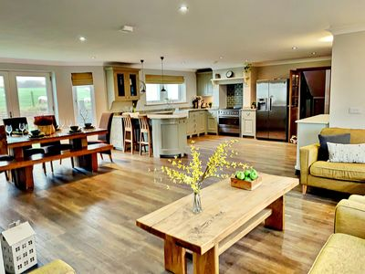 Photo for Near Ennerdale Lake - Luxury House with Hot Tub & Games Room - Sleeps 9