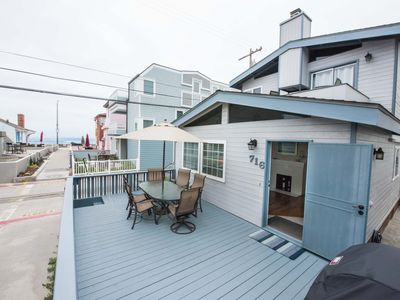 Newly Listed! Best court in MB! AC- 4 homes from Ocean, steps to everything