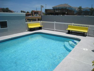 Photo for Boat Dock and Swimming Pool - Sunsets on the Bay: Morningside