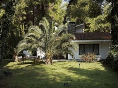 Photo for 4 people villa in Sani, surrounded by pine forest