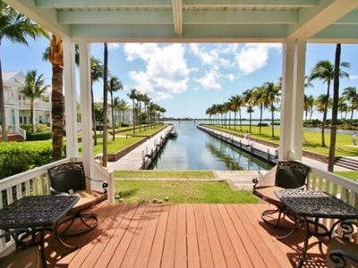 Photo for Spectacular sunset views, luscious landscaping, and boat slip included