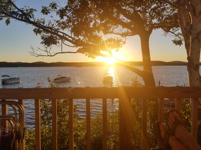 Photo for Lake Winnipesaukee Cottage on Paugus Bay!