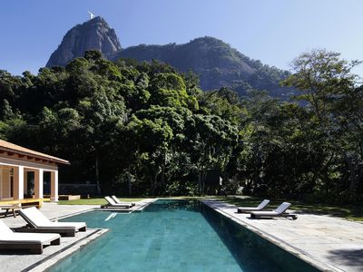 Photo for Rio013-Luxury mansion with pool in the Botanical Garden
