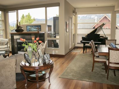 Photo for Downtown Penthouse with private hot tub In the Canadian Rockies sleeps 6