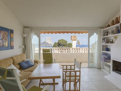 Photo for Charming apartment with sea views to rent in Calpe