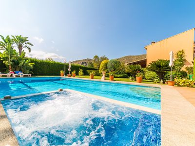 Photo for ☼ Impressive Finca with 2 units, XXL pool & whirlpool
